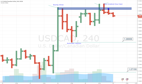 USDCAD: USD/CAD - Buying climax and buying trap >