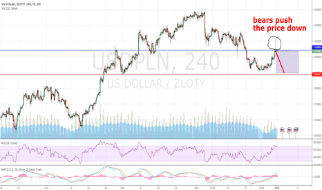 USDPLN: USDPLN possible sell-off?