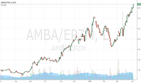 AMBA/EPZM: Ambarella and Epizyme: breaking out or breaking bad?