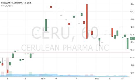 CERU: buy .71 tp.735