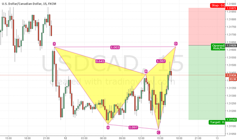 USDCAD: sell uc