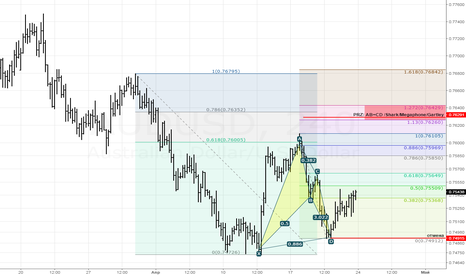 AUDUSD: Bullish Bat (H4)