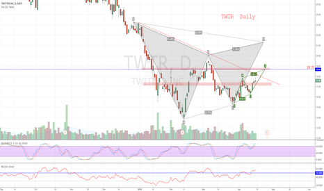 TWTR: TWTR  Daily!!  it is time to look up