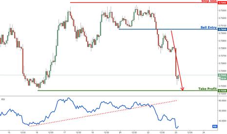 NZDUSD: NZDUSD dropping towards our profit target, remain bearish