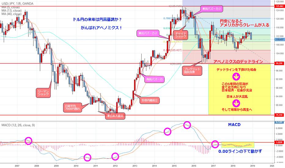 USDJPY: ドル円の10年、そして未来は?(チャートの帝王その7)