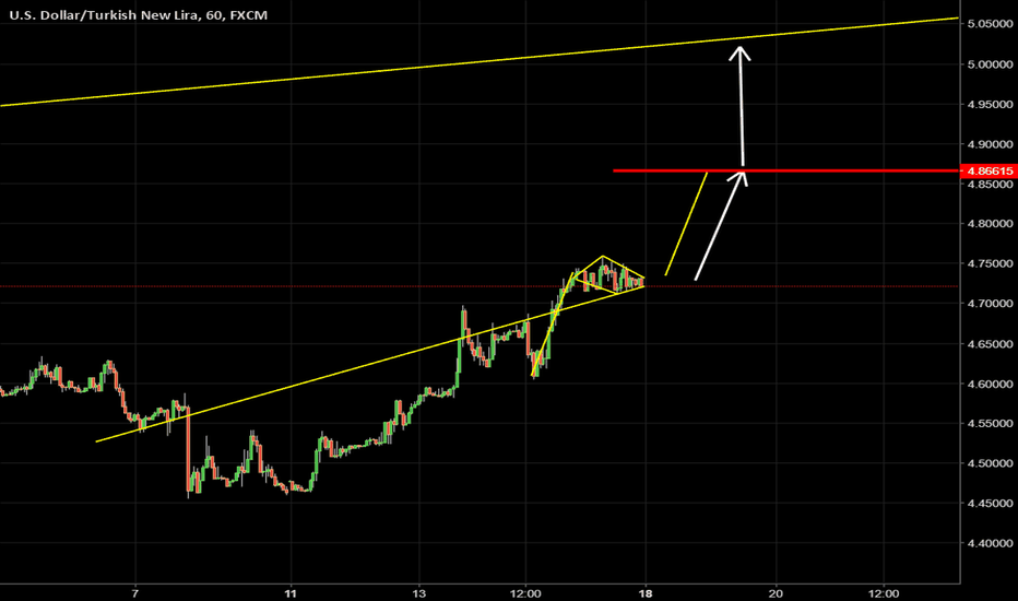 USDTRY: USDTRY SECOND WAWE CAN START NEXT UP TREND