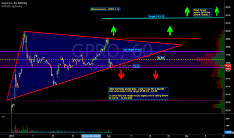 GPRO: $GPRO 1 Hour After Earnings Play