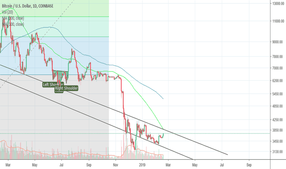 BTCUSD: Bounce to the top of the channel