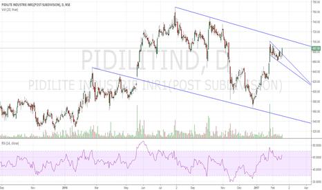PIDILITIND: Pidilite Buy on Flag Breakout