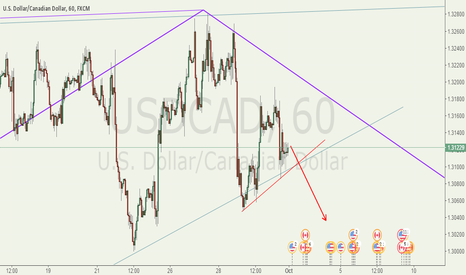USDCAD: Late bearish