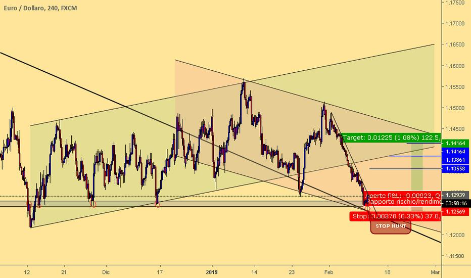 EURUSD: EUR/USD RIALZISTA