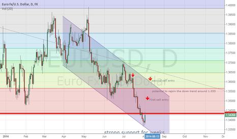 EURUSD: strong support at week remain