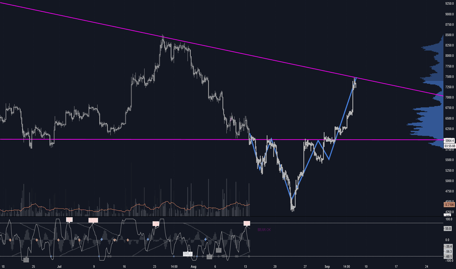 BTCUSD: does bitcoin will break support because altcoin?