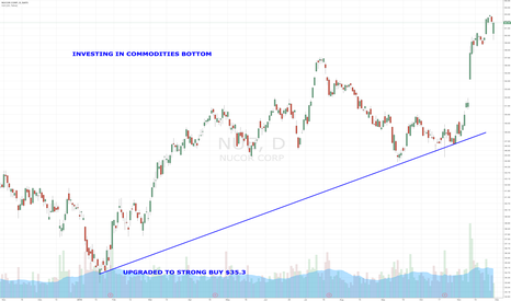 NUE: INVESTING IN COMMODITIES BOTTOM
