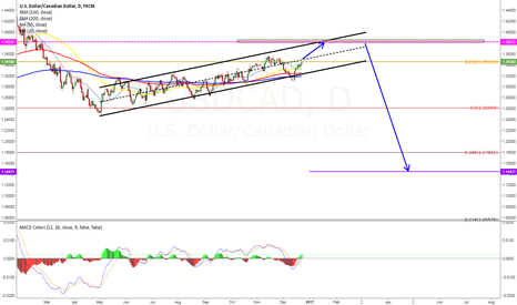 USDCAD: this is on daily