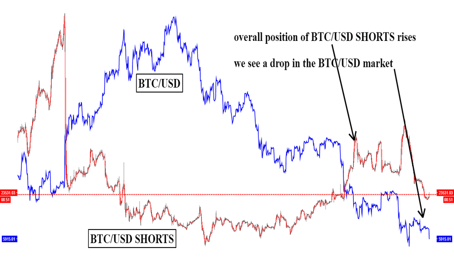 BTCUSDSHORTS: looking at BTCUSD SHORTS in relation to overall BTCUSD market.