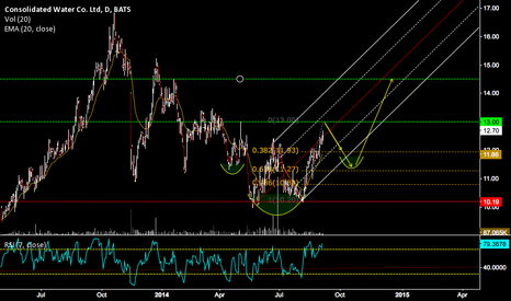 CWCO: CWCO DOUBLE BOTTOM CONFIRMED BUT DONT DRINK THE WATER YET!