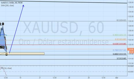 XAUUSD: Compras en ORO bullish pattern