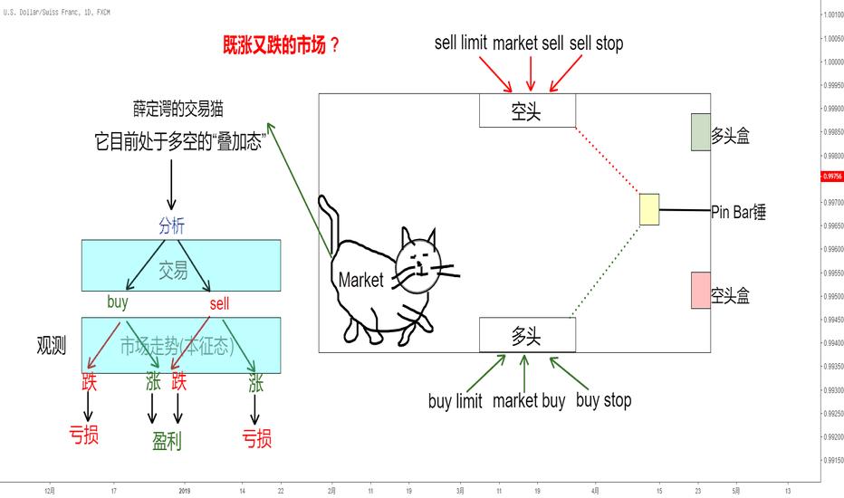 """USDCHF: 交易中的""""类科学""""(1) -- 薛定谔的交易猫 (featuring. LoisYang)"""