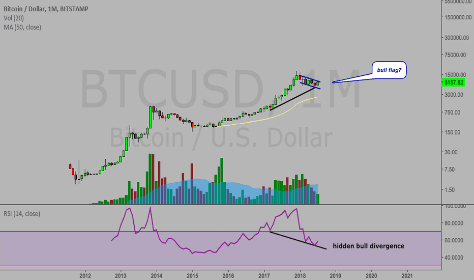 BTCUSD: Bitcoin monthly showing signs...a funeral for the bears?
