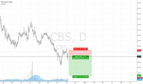 CBS: short cbs corp