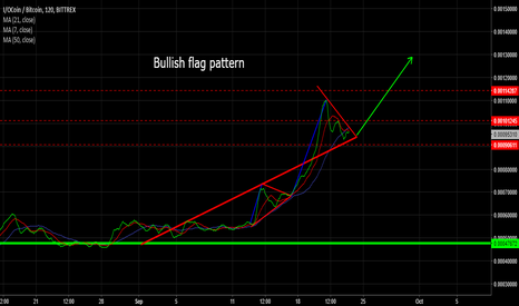 IOCBTC: Bullish flag pattern