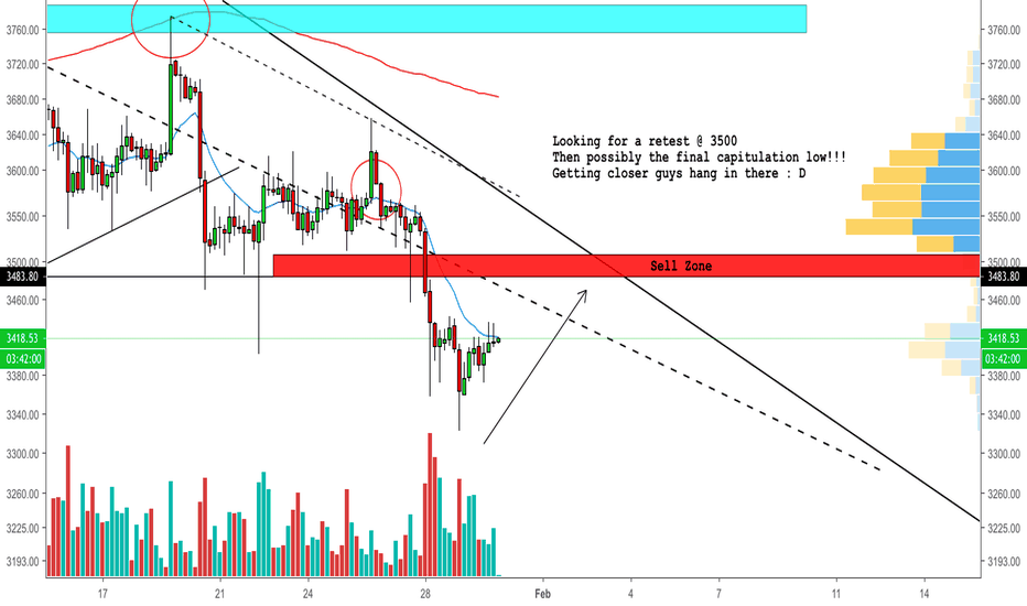 BTCUSD: Bitcoin Retest then Capitulation low incoming!?