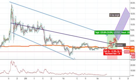 BCHUSD: BCH to increase by around 40% in 10 days