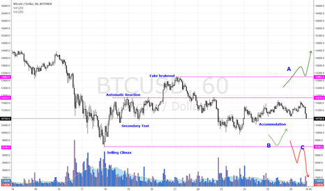 BTCUSD: BTCUSD in Accummulation Phase.