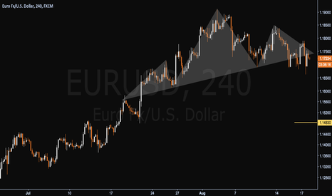 EURUSD: Euro Faces A Reversal Pattern