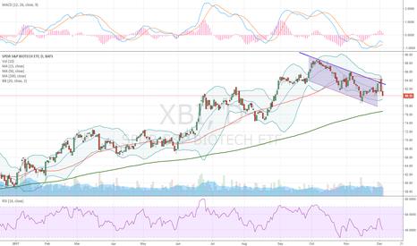 XBI: Descending Channel