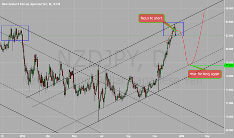 NZDJPY: daily chart for execute NZDJPY