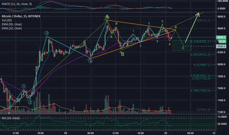 BTCUSD: BTC on subwave-2 of wave-C, preparing to start another Bullrun