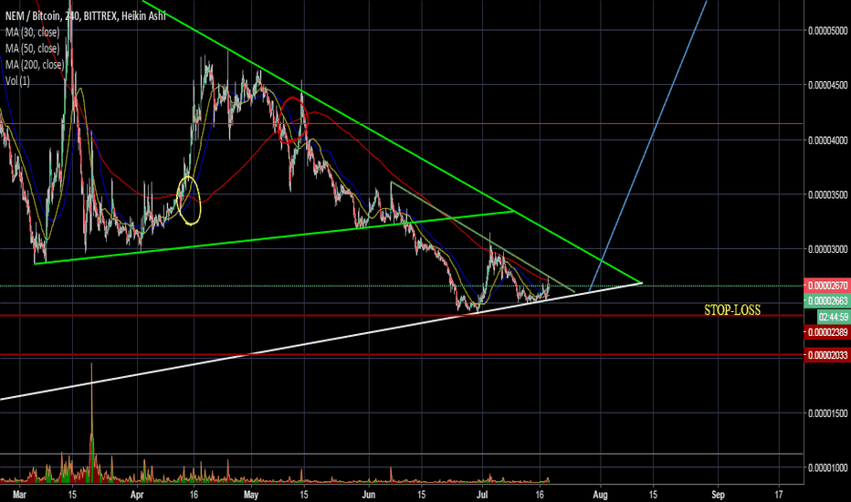XEMBTC: XEM - get ready for the RALLY