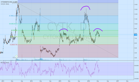 CYTK: CYTK Massive H&S?