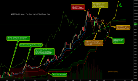 BTCUSD: $BTC Weekly View: The Bear Market That Never Was.