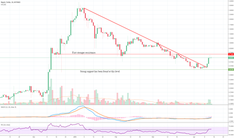XRPUSD: Ripple Ready for Another Bull Run?