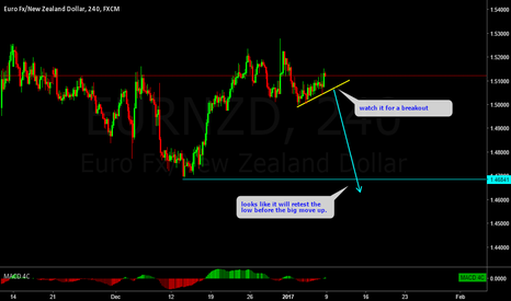EURNZD: EURNZD looking like a flag