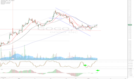 GOGO: GOGO Hourly double bottom Daily flag