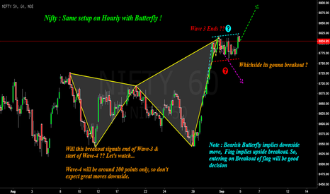 NIFTY: Nifty : Will Butterfly Fly away ??