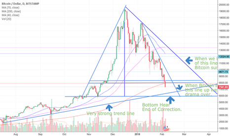 BTCUSD: Bitcoin Bottom @ $5817