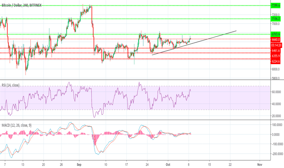 BTCUSD: Bitcoin BTC // Dollar USD Price trend analysis