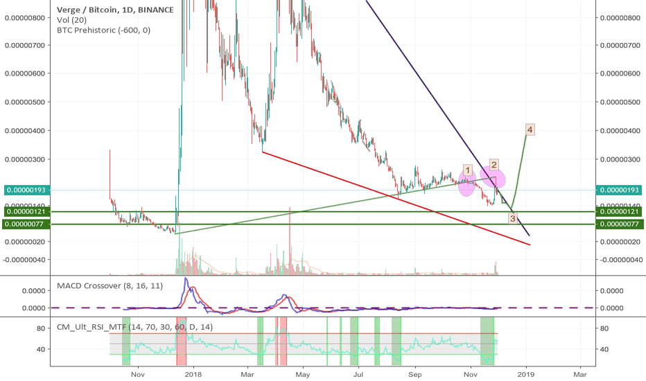 XVGBTC: XVG new SETUP AND 400% In Dec 18 Jan 19