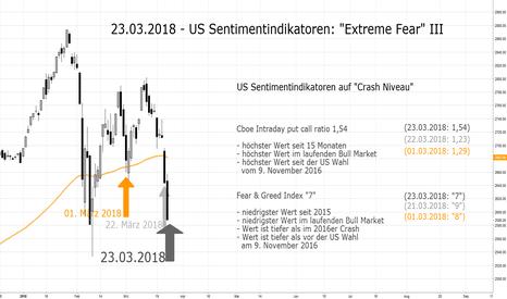 SPX: US Sentimentindikatoren auf Crash Niveau (III)