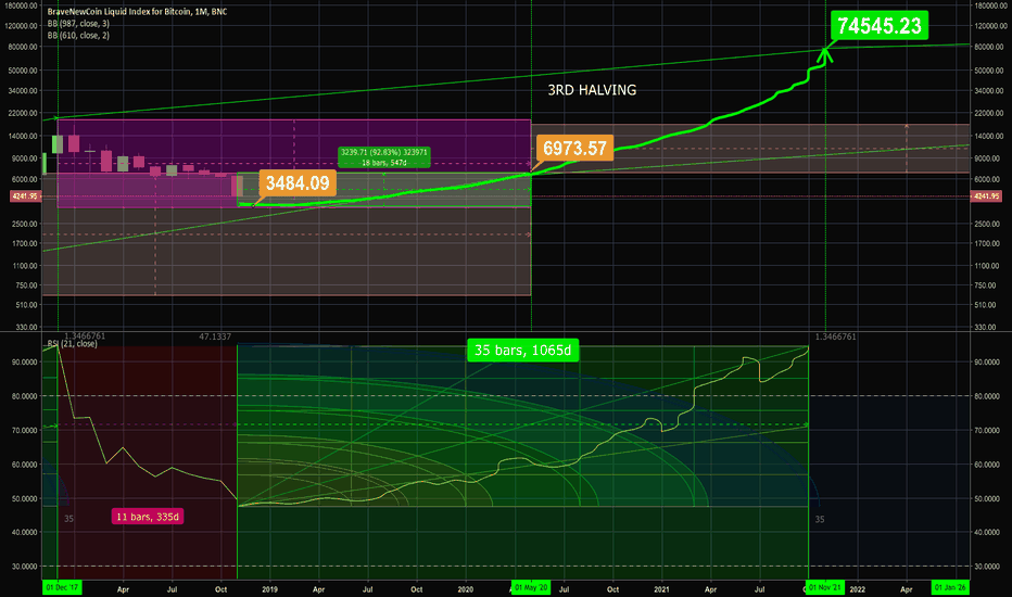 BLX: $BTC.X Approximately 20x in 3 years