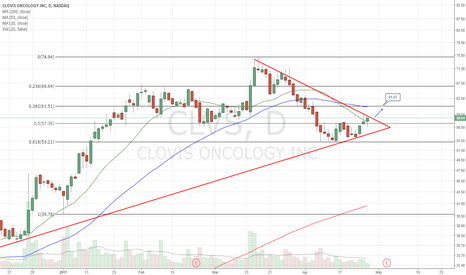 CLVS: Coiling. Long on breakout