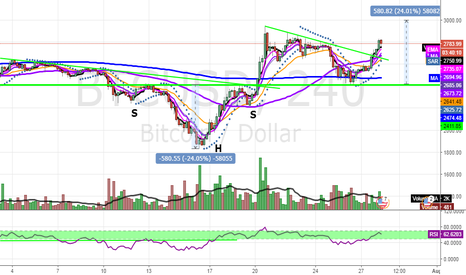BTCUSD: Rally in BTC may provide a good opportunity for altcoins