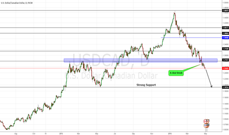 USDCAD: Loonie: In the long term, it's a drop to 1.2000