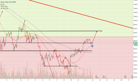 BTCUSD: BTC:USD 1 hour chart DAILY UPDATE (day 26 extra)