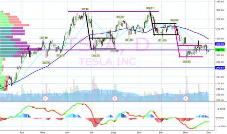 TSLA: double top in play